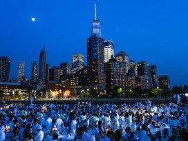 New Yorkta Beyaz gece