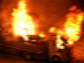 Tunceli Valiliğinden yakılan araçlara ilişkin açıklama