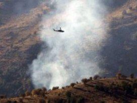 PKKnın beş gizli silah deposu vuruldu