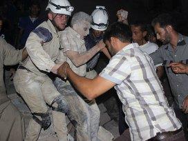 Halepe varil bombalı saldırı