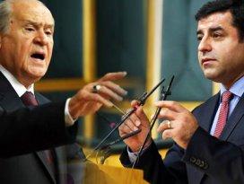 MHP'den Demirtaş'a: MHP şerefsize şerefsiz der!
