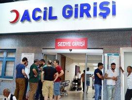 Dursun Ali Erzincanlı kaza yaptı