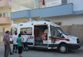 Mardinde ambulansa molotofkokteylli saldırı