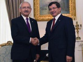 Davutoğlu ve Kılıçdaroğlu perşembe günü görüşecek