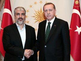 Cumhurbaşkanı Erdoğan Meşali kabul etti