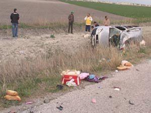 Trafik canavarı yine can aldı: 1 ölü 11 yaralı