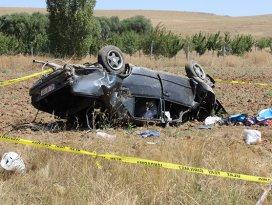 Konyada feci kaza: 1 ölü, 3 yaralı