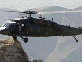 Hakkaride askeri helikoptere saldırı