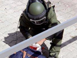Askerlik şubesi önünde bomba paniği