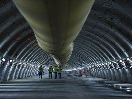 Avrasya Tünelinde kazı çalışmaları tamamlanıyor