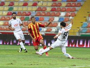 Torku Konyaspor Kayseriden puanla döndü