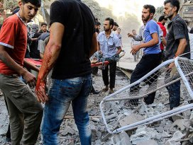 Esed güçleri Doğu Gutada sivilleri vurdu