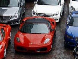 11 bin lüks otomobile el konulacak!