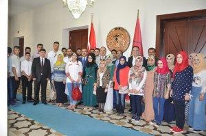 Iraklı Türkmen öğrenciler Konyada