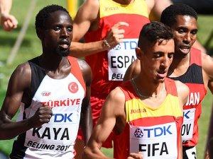 Milli atlet Kaya finale yükseldi