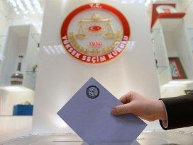 Seçim yasakları Resmi Gazetede