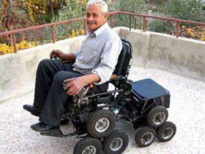 Engellilere merdiven tırmandıracak icad