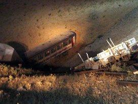 Muşta yük trenine bombalı saldırı