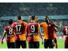 Galatasaraydan deplasmanda farklı galibiyet