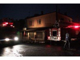 Muğlada evde yangın çıktı: 1 ölü, 1 yaralı