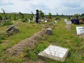 Danimarkada Müslüman mezarlığına saldırı