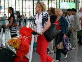 Turist sayısında artış yaşandı