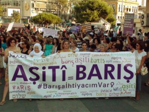 14 ilde savaş karşıtı eylem