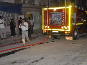 Seydişehir'de depoda yangın