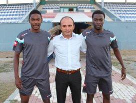 Beyşehir Belediyespor iki siyahi futbolcuyu deniyor