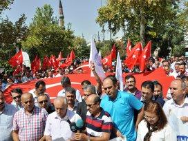 Konya'da Memur-Sen'den teröre tepki