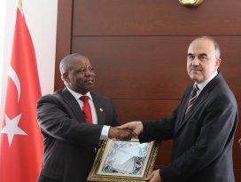 Ruandanın Ankara Büyükelçisi Kayizari, Konyada