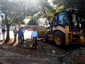 Şeydişehir'in merkezine şehir meydanı yapılıyor