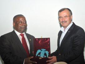 Konya, Ruandalı heyeti ağırladı