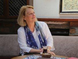 Amerikalı yazar Branning Konyayı ziyaret etti