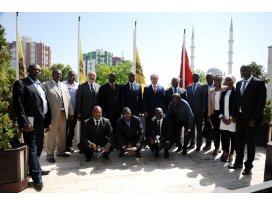Ruandalı heyetten Konya Büyükşehir'e ziyaret