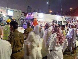 Kabede vinç faciası: 2si Türk 87 hacı adayı vefat etti