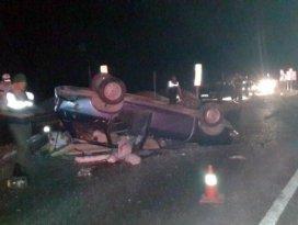Beyşehirde trafik kazaları: 2 yaralı