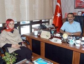 AK Partili Ustadan Paslıya ziyaret