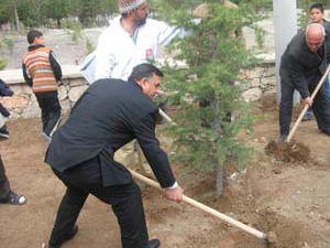 Seyrantepe 2 bin fidanı toprakla buluşturdu