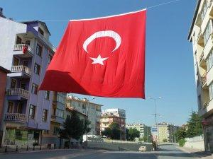 En büyük bayrak, Yavuz'dan