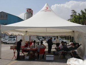 Konya Şeker'de kan bağışı kampanyası