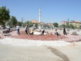 Meram'da kavşak düzenlemesi