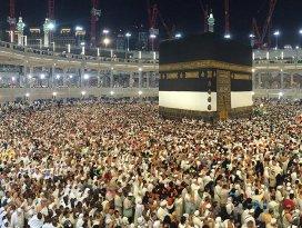 Kutsal topraklara 1 milyonu aşkın ziyaret