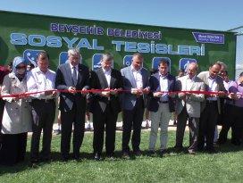 Beyşehir Belediyesi Sosyal Tesisleri'ne görkemli açılış
