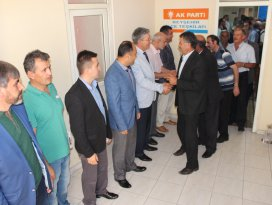 AK Parti Beyşehir İlçe Teşkilatında bayramlaşma