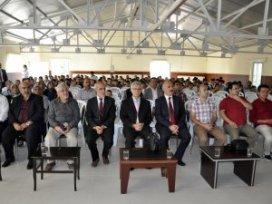 2015-2016 Eğitim-Öğretim Yılı Kuran Kursları açılış programı yapıldı