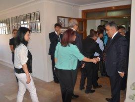 Başkan Özgüven, Belediye personeliyle bayramlaştı