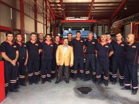 Prof. Dr Hacı Ahmet Özdemir'den esnaflara ziyaret