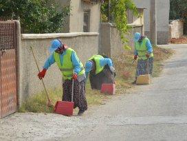 Ereğli'de çöp konteynerleri dezenfekte ediliyor