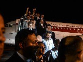 Irakta serbest bırakılan 16 Türk işçi Türkiyede